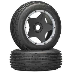 HPI4736 - Dirt Buster Rib Tire M Compound Blk Whl Baja(2)