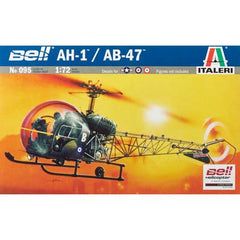 ITA0095S - 1/72 AH-1/AB-47 Light Helicopter
