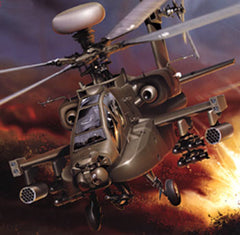 ITA0863S - 1/48 AH-64D Longbow Apache Helicopter
