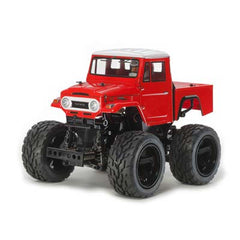 TAM47305 - RC Toyota Land Cruiser 40 P/Up Red Painted GF-01