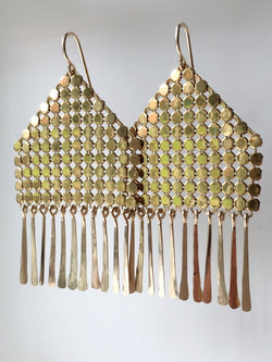 Ruoko Mesh Earrings