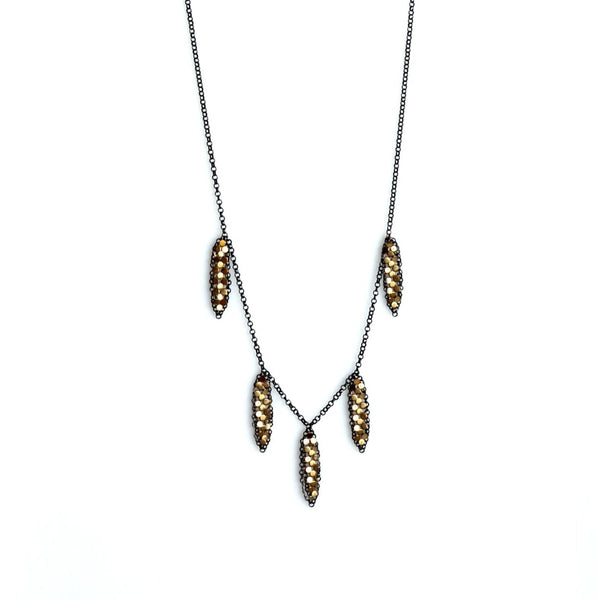 Petal Mesh Necklace