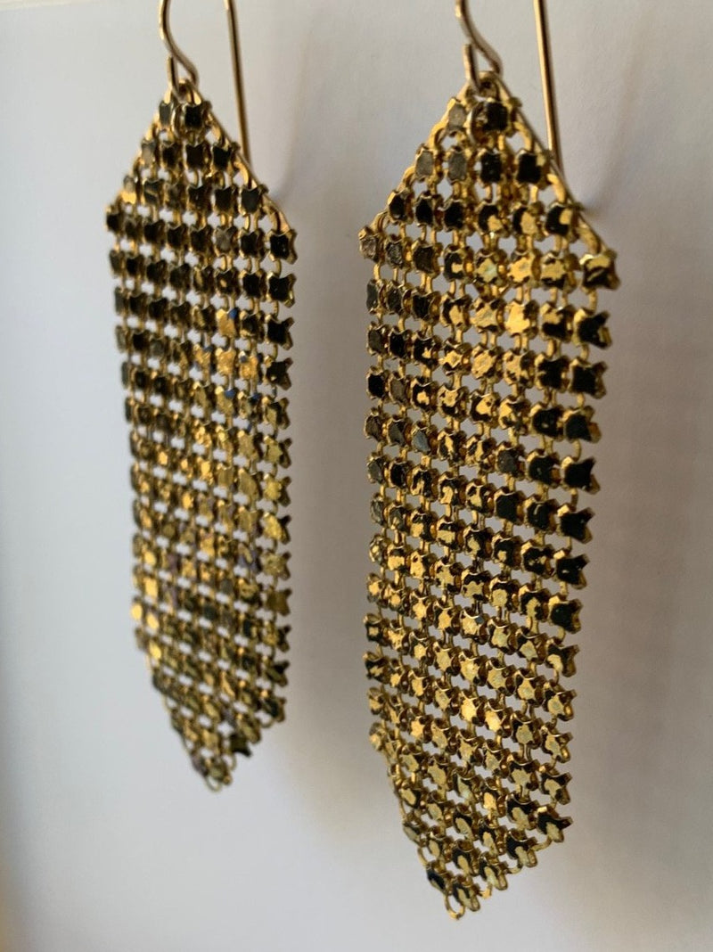 Wabi-Sabi Medium Mesh Earrings