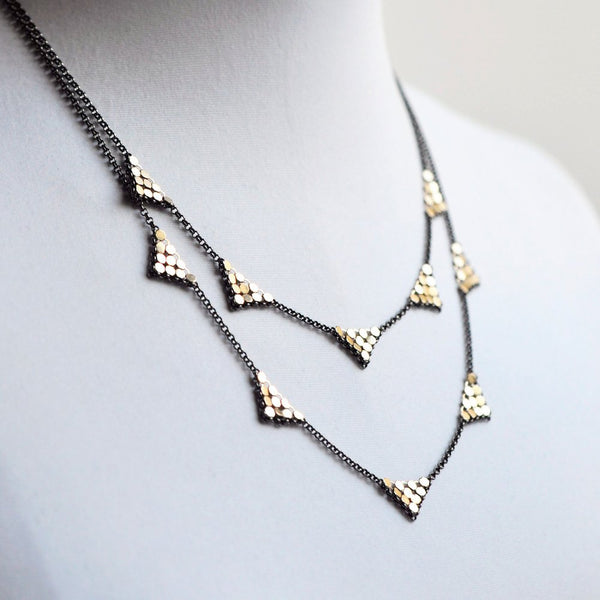 Triangle Station Necklace