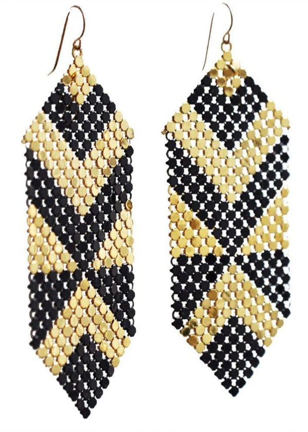 Deco Abstract Earrings