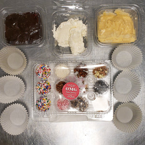 Bake-at-Home OMG Cupcake Kit (with all the fixins')