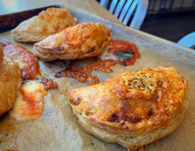 Load image into Gallery viewer, Fresh Baked OMG Savoury Turnovers (x6)