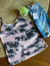Load image into Gallery viewer, Tie Dye Sweater Knit Sleeveless Top