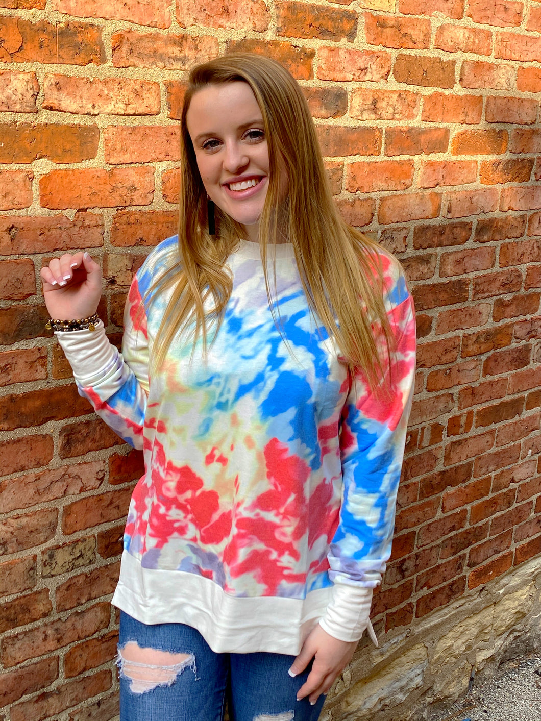 Striking Tie Dye