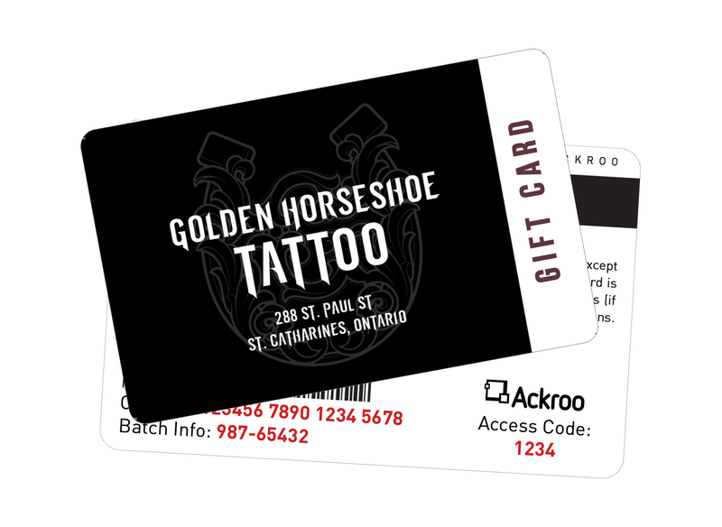 Golden Horseshoe Tattoo