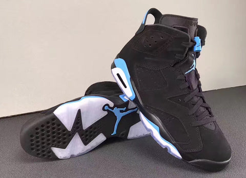 d5e82df2d4c Looks like this holiday season will be packed with heat from Jordan brand  once again. Here we have a look at a Jordan 6 with University Blue accents  which ...