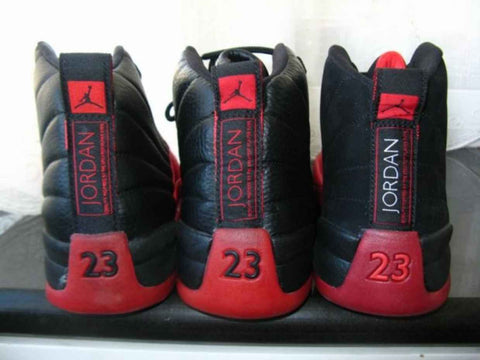 new product cceef 86872 Air Jordan 12 'Flu Game' 97 03 09 16 Comparison - The Sole ...
