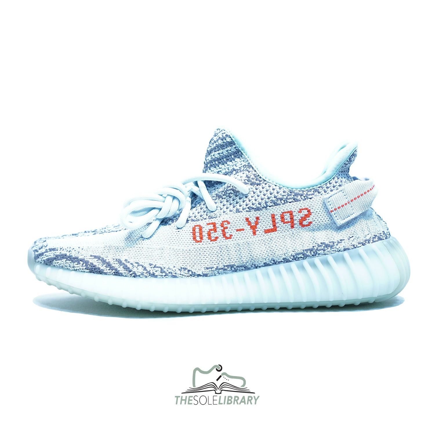 e6860f088d90a Adidas Yeezy Boost 350 V2  Blue Tint  - The Sole Library