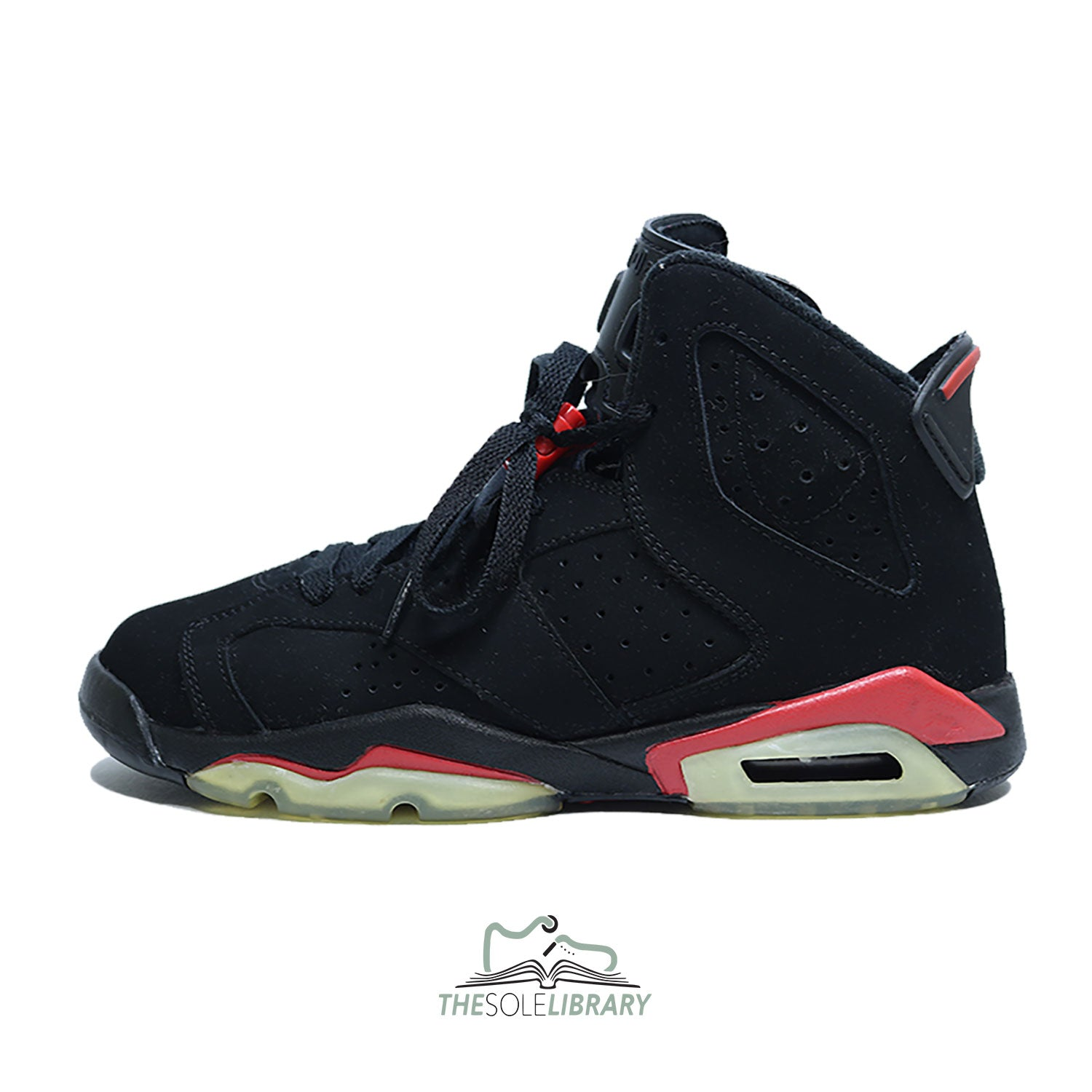 competitive price d8a91 ee978 closeout air jordan 6 og infrared yellow sole 8c38e df243