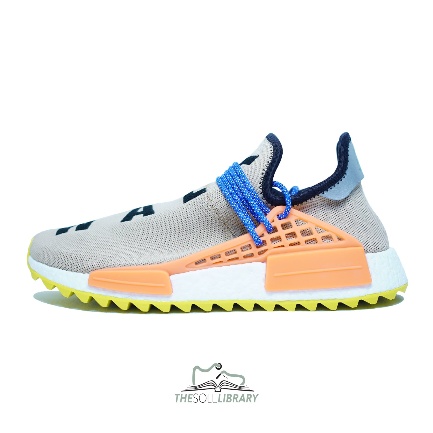 8d4c70571efe Pharrell x Adidas Human Race NMD TR  Pale Nude  - The Sole Library