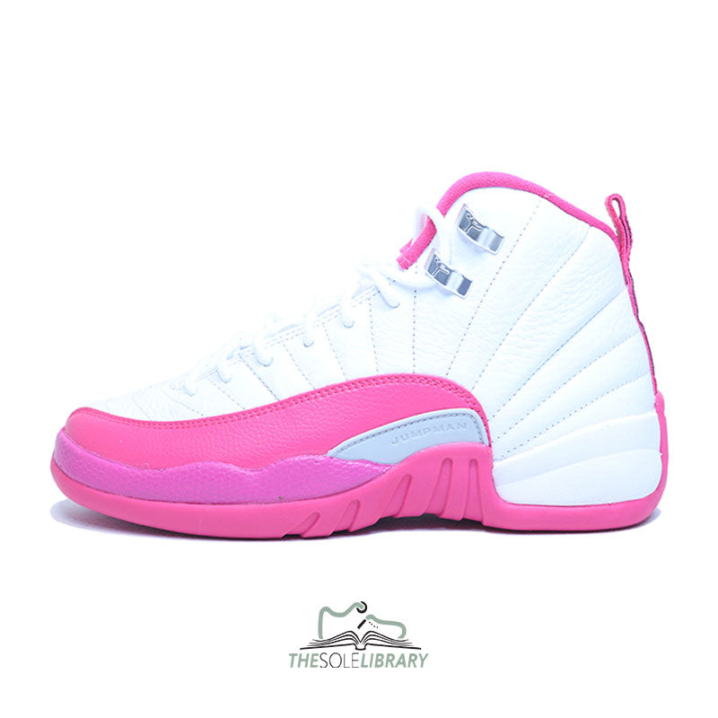 Jordan 12 Dynamic Pink For Sale - The Sole Library 6709145b7