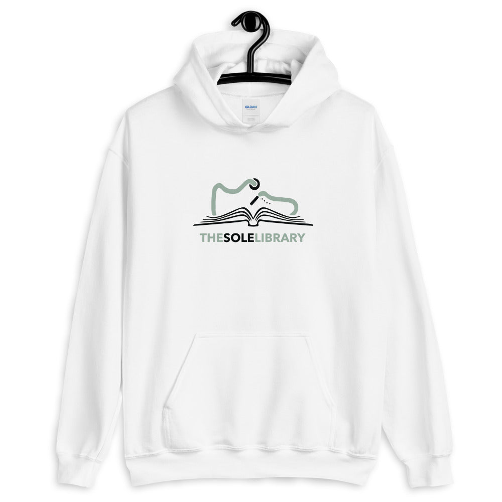 White TSL Hooded Sweater