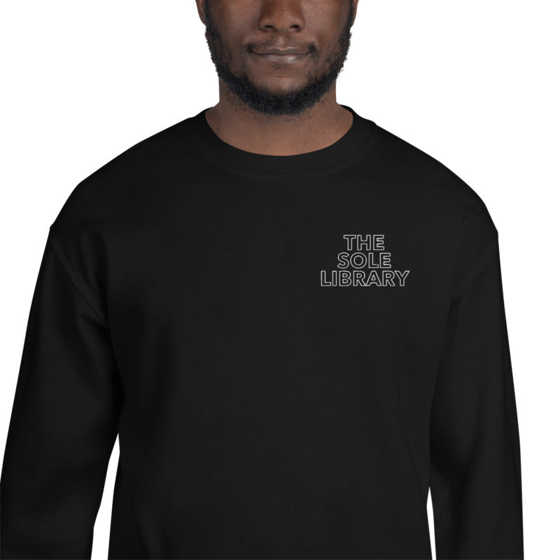 The Sole Library Stitched Sweatshirt