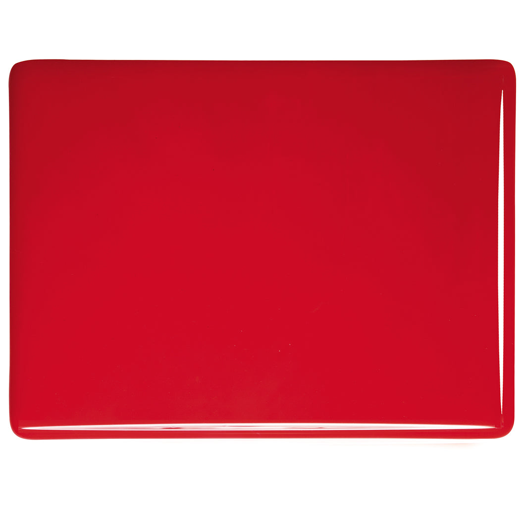 Large Sheet Glass - Red* - Opalescent