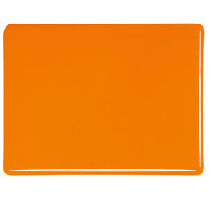 Thin Sheet Glass - Tangerine Orange* - Opalescent