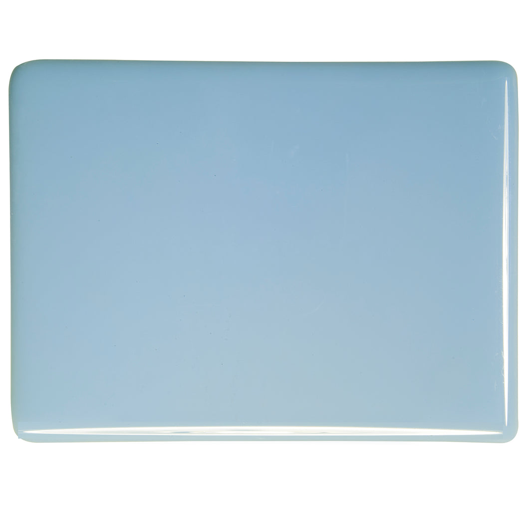 Large Sheet Glass - Powder Blue - Opalescent