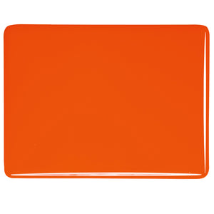 Sheet Glass - Orange* - Opalescent