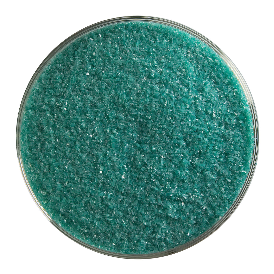 Frit - Teal Green - Opalescent