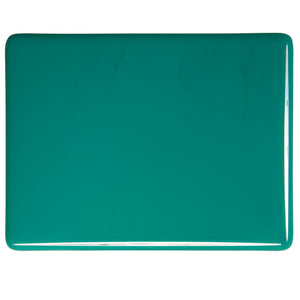 Sheet Glass - Teal Green - Opalescent