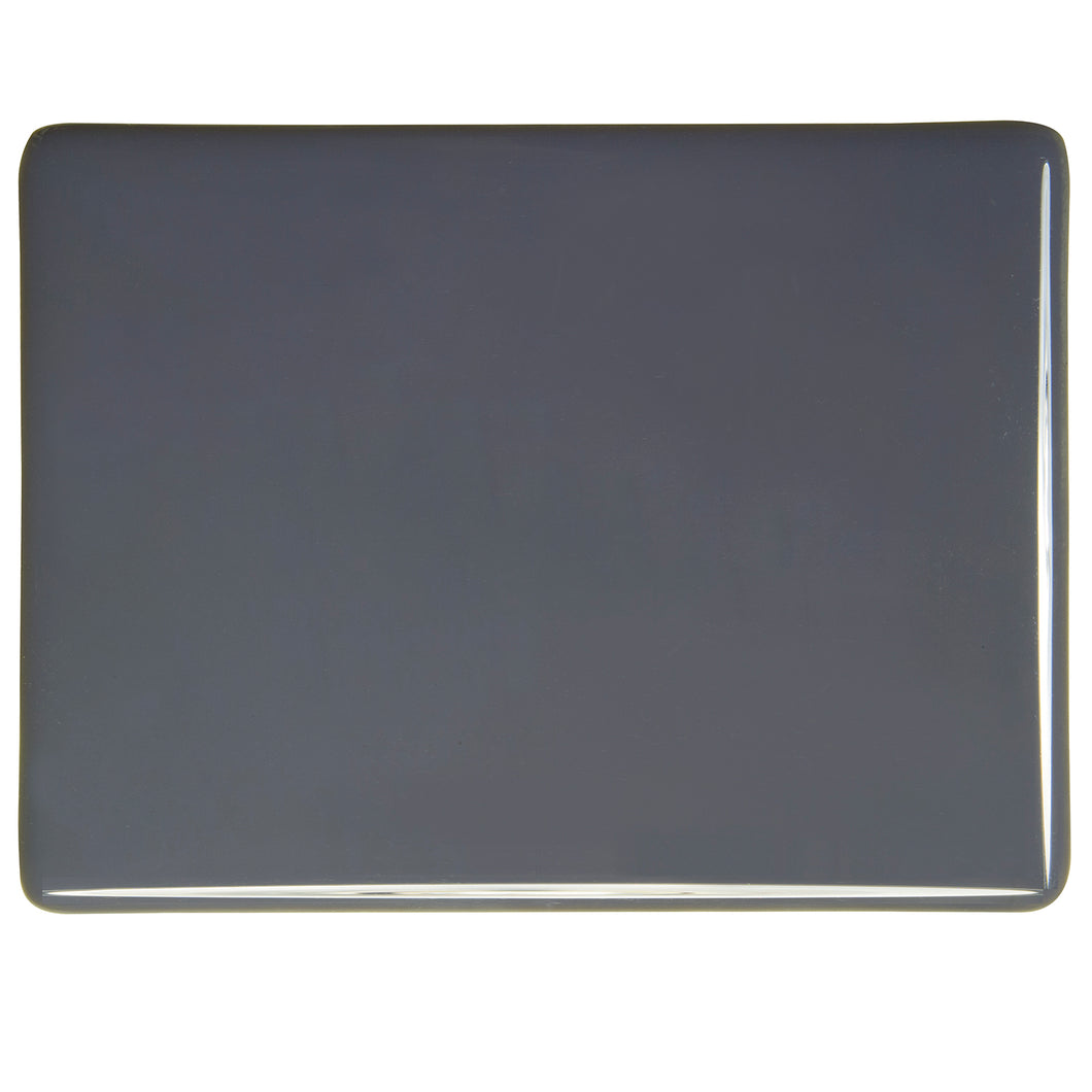 Large Sheet Glass - Slate Gray - Opalescent
