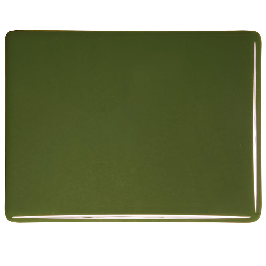 Large Sheet Glass - Moss Green - Opalescent