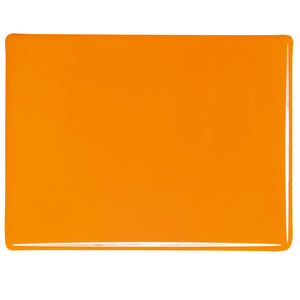 Large Sheet Glass - Pumpkin Orange* - Opalescent