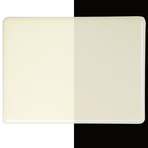 Large Sheet Glass - Warm White - Opalescent