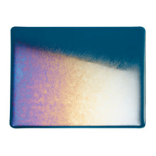 Load image into Gallery viewer, Large Sheet Glass - Aquamarine Blue Iridescent Rainbow - Transparent