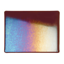 Load image into Gallery viewer, Sheet Glass - Dark Rose Brown Iridescent Rainbow - Transparent