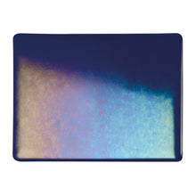 Load image into Gallery viewer, Large Sheet Glass - Aventurine Blue Iridescent Rainbow - Transparent