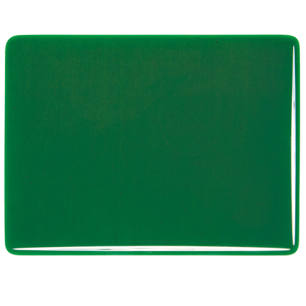 Large Sheet Glass - Kelly Green - Transparent