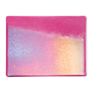 Large Sheet Glass - Light Pink Iridescent Rainbow* - Transparent