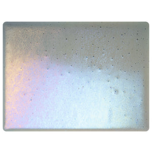 Sheet Glass - Pewter Iridescent Rainbow - Transparent
