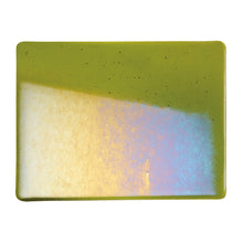 Load image into Gallery viewer, Large Sheet Glass - Pine Green Iridescent Rainbow* - Transparent