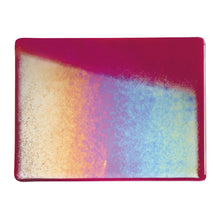 Load image into Gallery viewer, Sheet Glass - Cranberry Pink Iridescent Rainbow* - Transparent