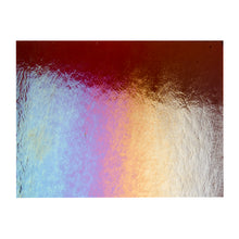 Load image into Gallery viewer, Large Sheet Glass - Carnelian Iridescent Rainbow* - Transparent