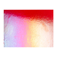 Load image into Gallery viewer, Large Sheet Glass - Garnet Red Iridescent Rainbow* - Transparent