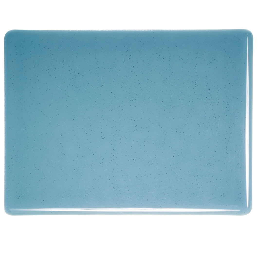 Large Sheet Glass - Steel Blue - Transparent