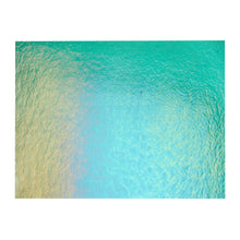 Load image into Gallery viewer, Large Sheet Glass - Emerald Green Iridescent Rainbow - Transparent