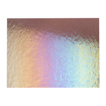 Load image into Gallery viewer, Large Sheet Glass - Light Violet Iridescent Rainbow - Transparent