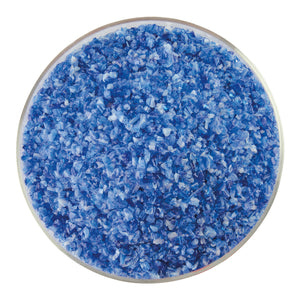 Frit - Caribbean Blue Transparent, White Opalescent 2-Color Mix
