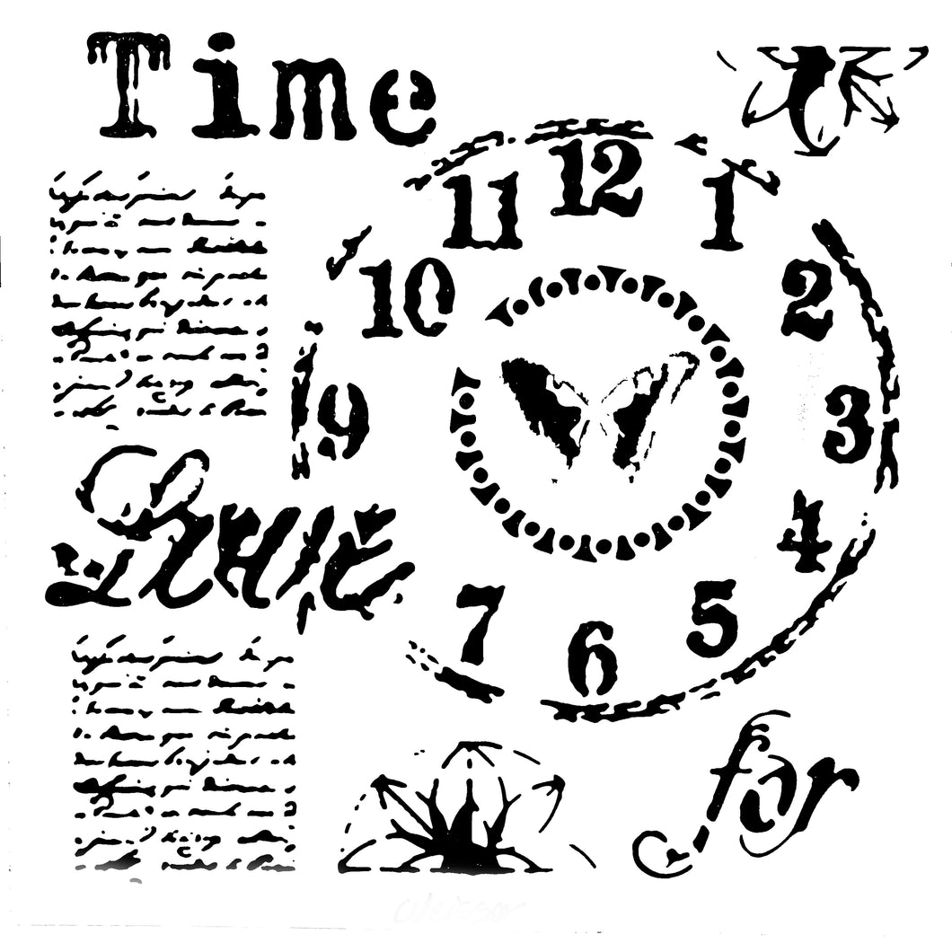 Stencil - Time for Love