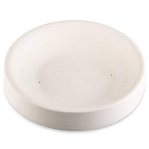 "Bullseye - Simple Rimless Dish - 9"" Mold"