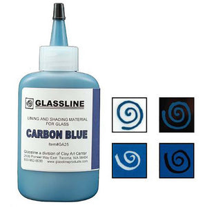 Glassline Paint - Carbon Blue