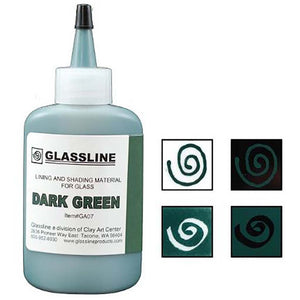 Glassline Paint - Dark Green